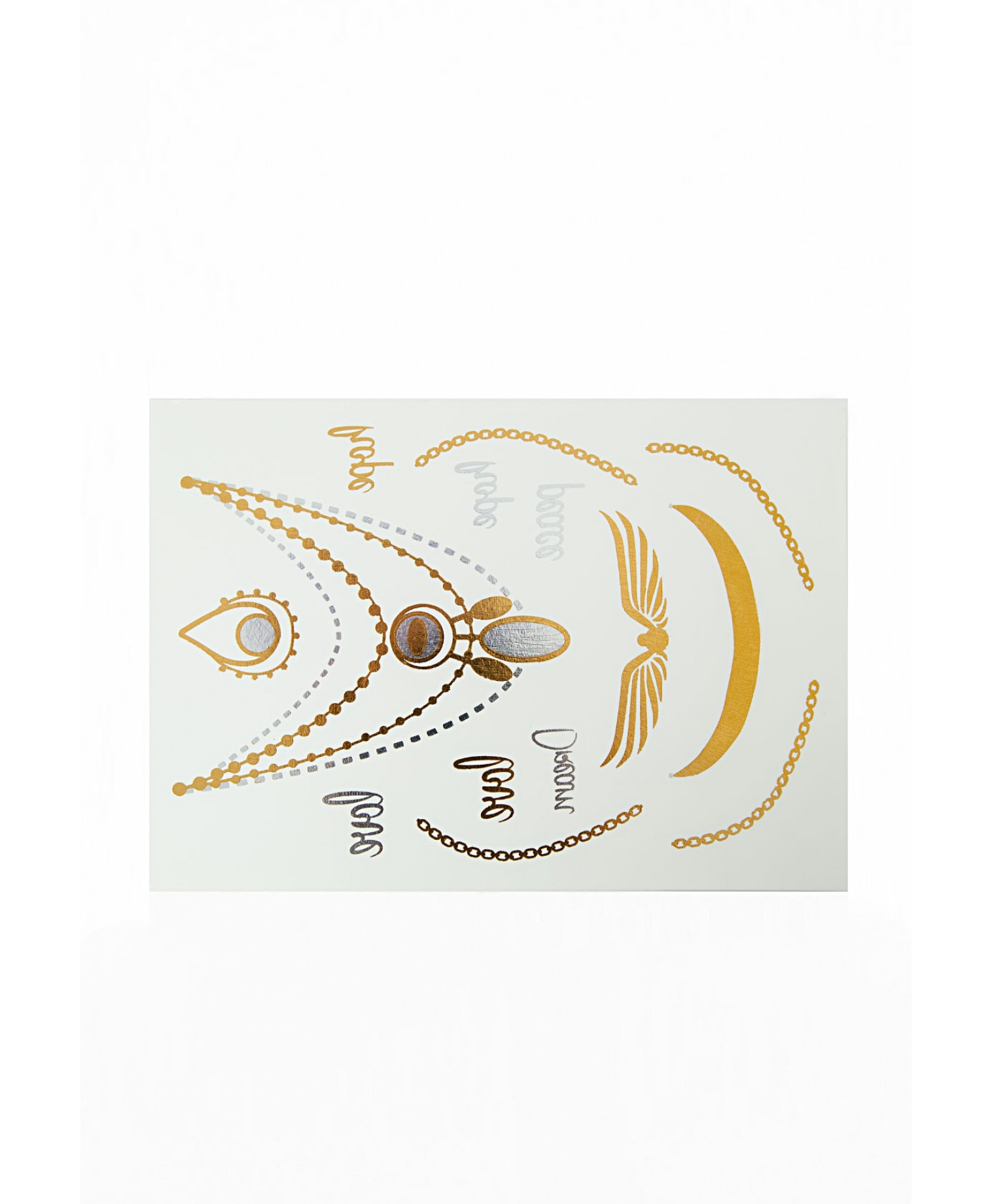 SEEKERS OF SUN LUXURY TEMPORARY TATTOOS 4