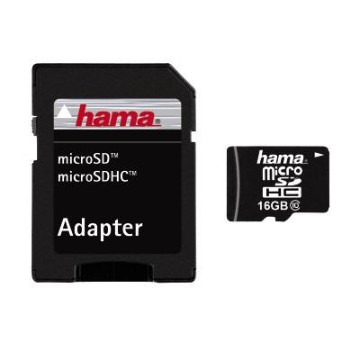 microSDHC 16GB Class 10 + Adapter/Photo