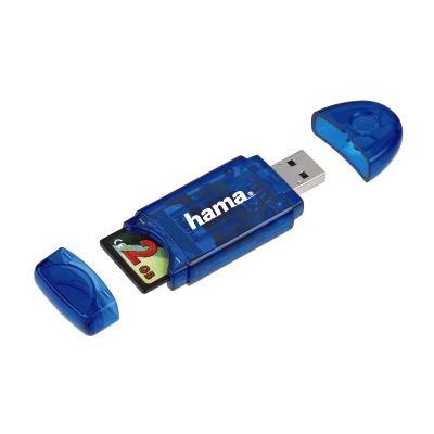 USB 2.0 SD Card Reader blue