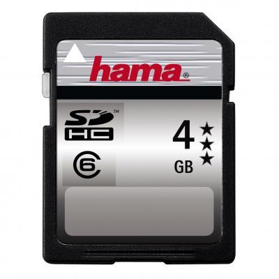 4GB SDHC Card - Class 6