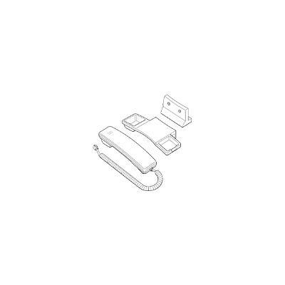 Handset White Tel 6