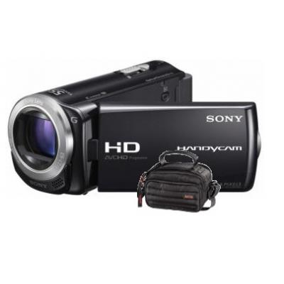 HDR-CX250E Black Flash Memory camcorder (Bundle1)