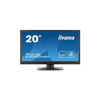 "20"" E2080HSD LED/TFT Monitor"