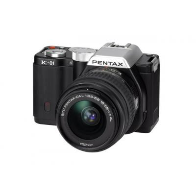 K-01 Black Single Kit + 18+55mm Lens