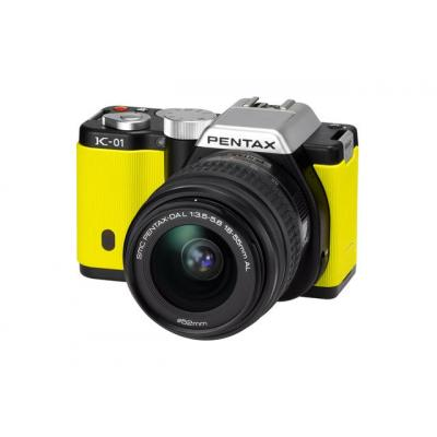 K-01 Yellow Single Kit + 18+55mm Lens