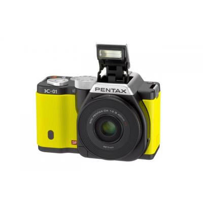 K-01 Yellow Single Kit + 40mm Lens