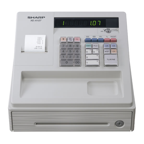 Sharp XEA107 Cash Register